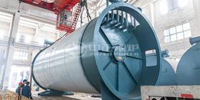 鸭脖娱乐官网锅炉聚焦泰国市场 为米粉加工提供高效的燃气导热油锅炉