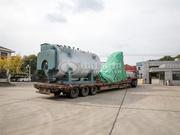 开仑化工12吨WNS系列卧式燃气蒸汽锅炉项目