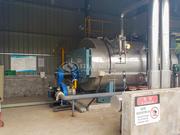 南京岩真旺2吨WNS系列冷凝式三回程燃油燃气蒸汽锅炉项目