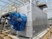 烟台龙口安德利果汁20吨SZS系列燃气蒸汽锅炉项目