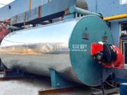 潍坊华宝纺织600万大卡和700万大卡YQW系列燃气卧式导热油锅炉项目