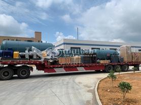 英格利化工700万大卡YY(Q)W系列燃油燃气导热油锅炉项目