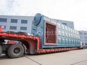 国电双鸭山发电50吨SZS系列燃轻柴油过热蒸汽锅炉项目