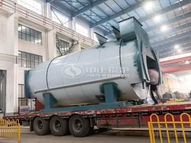 发往吉林地区的鸭脖娱乐网页版8.4MW节能采暖燃气锅炉