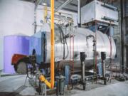 太平洋化肥6吨WNS系列高效节能燃气蒸汽锅炉项目