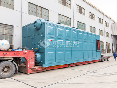 发往北京供热行业的鸭脖娱乐网页版29MWSZS低氮热水锅炉