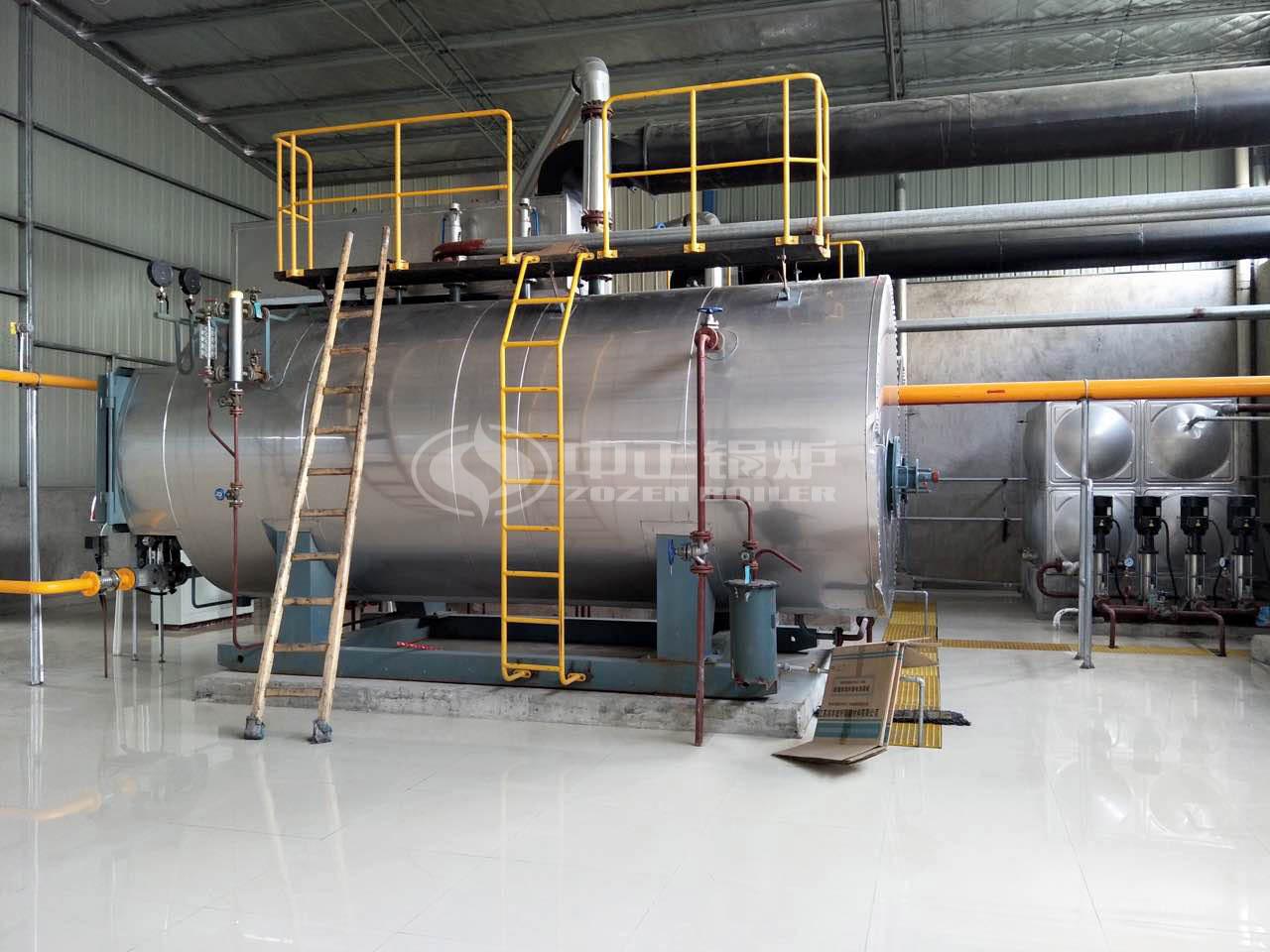 2吨燃气蒸汽锅炉型号参数