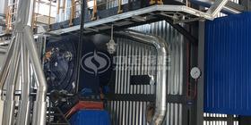 软实力与硬实力兼备 鸭脖娱乐官网锅炉又一台中温中压燃气锅炉顺利投产