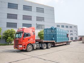 龙王食品15吨SZS系列安全环保燃气饱和蒸汽锅炉项目