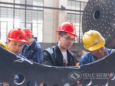 亚博app下载安装锅炉质量管理委员会开展工艺纪律检查