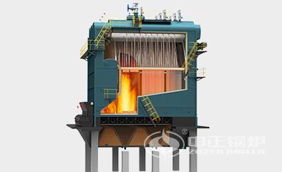 鸭脖娱乐网页版锅炉DZL系列热水锅炉内部结构