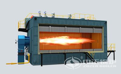 鸭脖娱乐官网锅炉SZS系列燃气锅炉内部结构