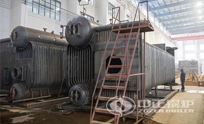 亚博app下载安装锅炉SZS系列燃气锅炉内部结构图